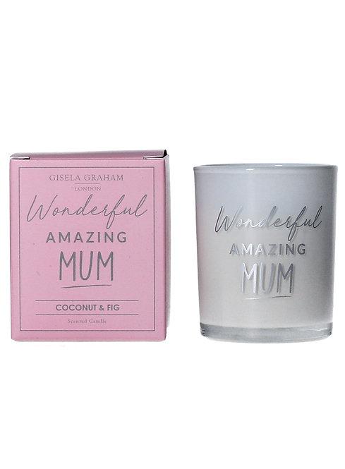 Amazing Mum - Candle