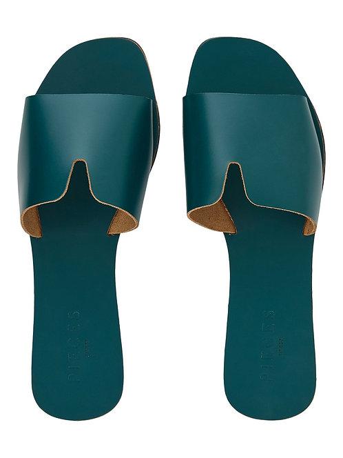 Leather Pila Slip on sandals