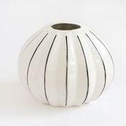 Round Painted Vase