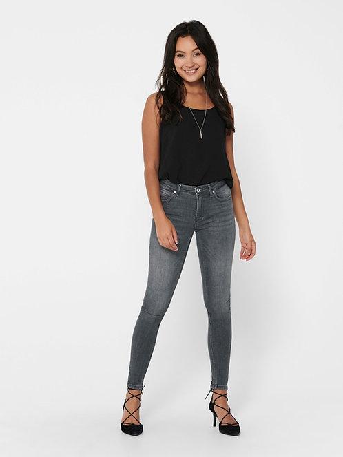 Kendall Zip ankle -skinny jeans - Grey