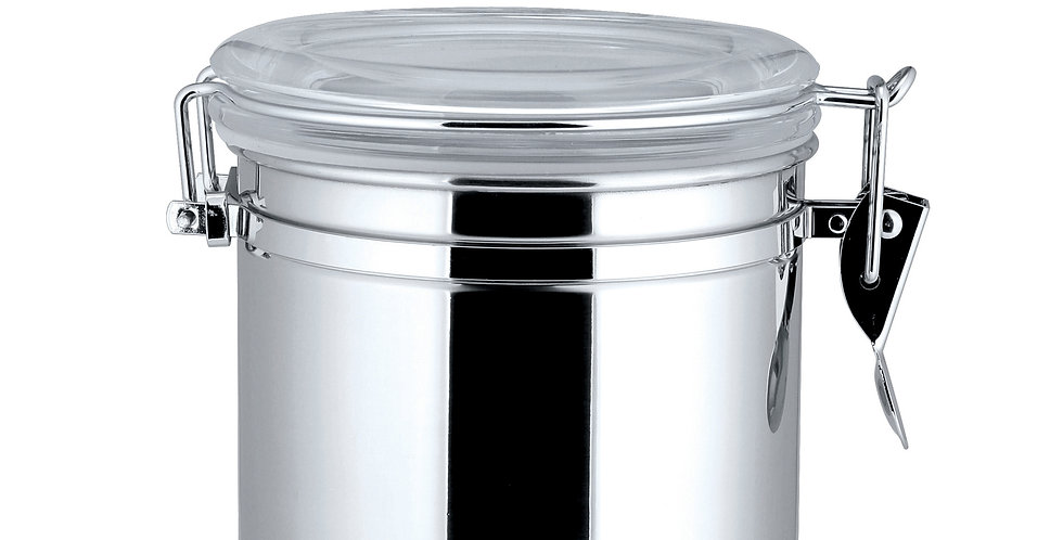 Air Tight Canisters with See Thru-Lid