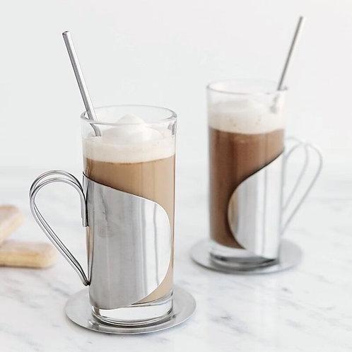 Set of 2 Irish Coffee Glasses