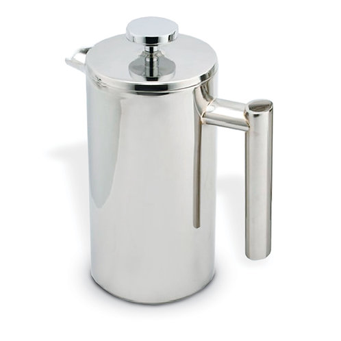 Double Walled Mirror Stainless Steel French Presses