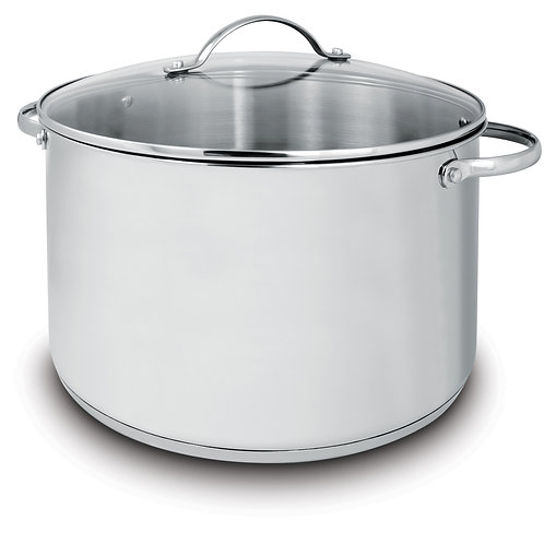 Deluxe Covered Stock Pots