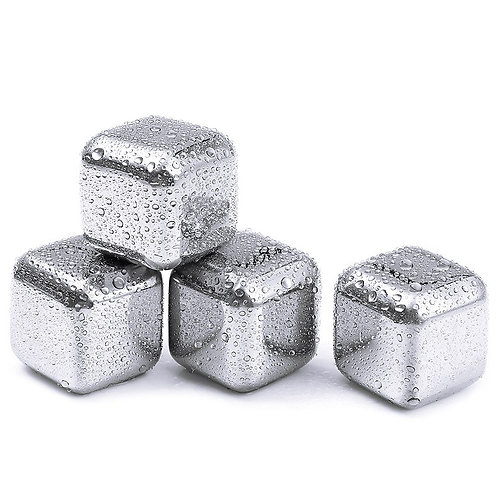 Stainless Steel Ice Cube Set
