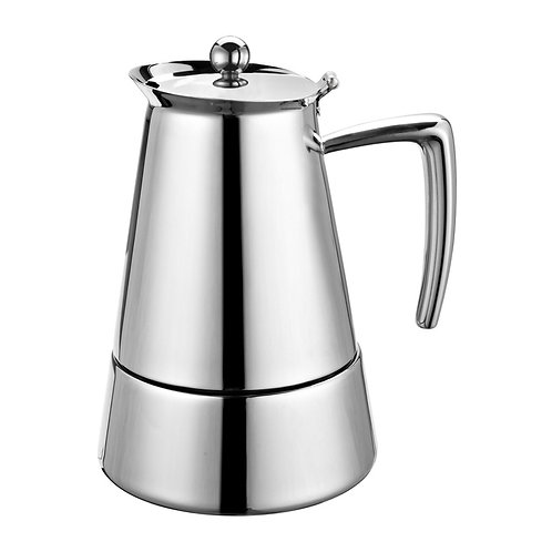 Barista 6 cup Espresso Stainless Steel Coffeemaker