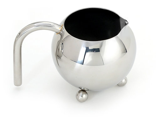 Footed Stainless Steel Creamer