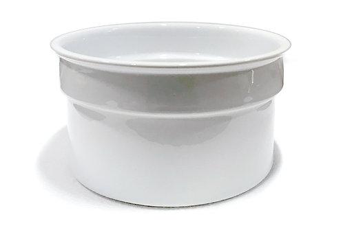 Fondue Insert in White Porcelain