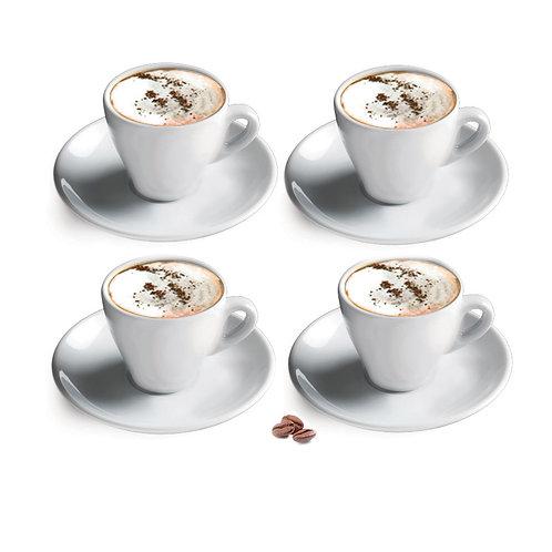 Ensemble de 4 Tasses à Cappuccino