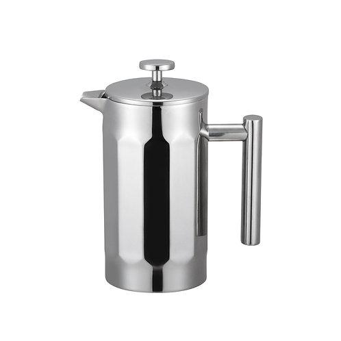 Cafetière à piston double paroi