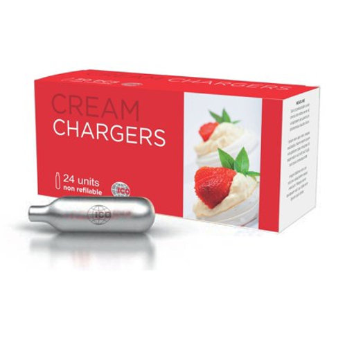 10 Nitrous Oxide N2O Chargers for Cream Whipper