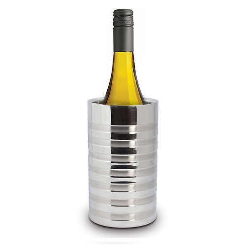 Double Walled and Ribbed Finish Wine Cooler