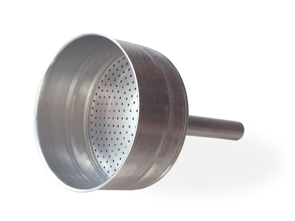 timeless design f6b98 2423c 3 & 4 cup Stainless Steel Funnel Filters for Roma, Milano, Alpha and Bella