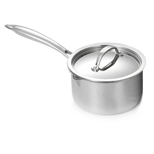Super Elite Covered Saucepan with Pouring Spouts