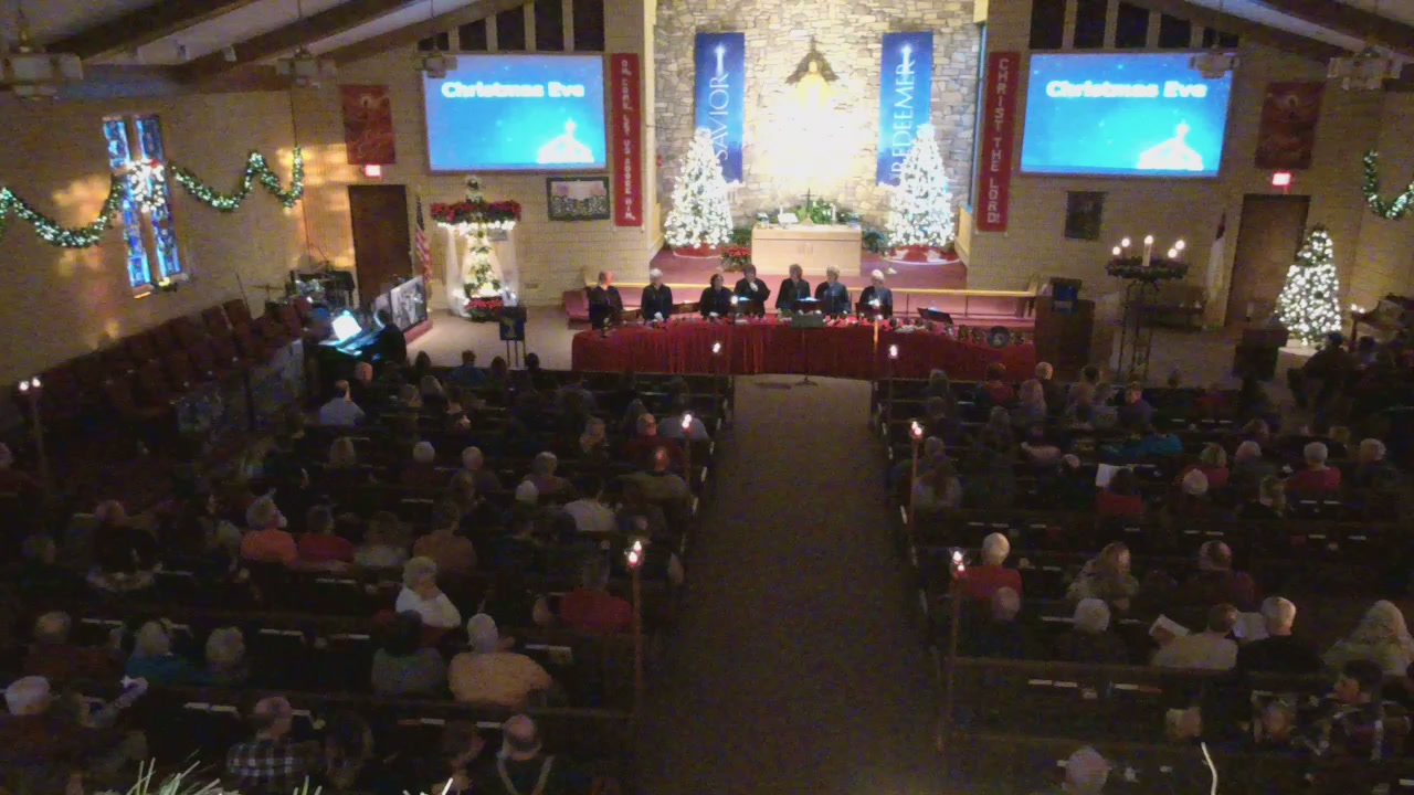 Christmas Eve Candlelight Service (Entire Service)