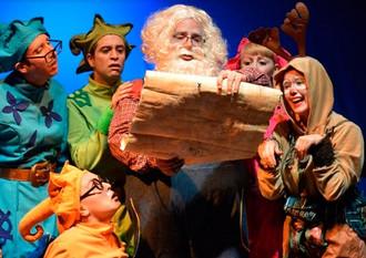 """""""Santa y los Impostores del Ritmo"""""""
