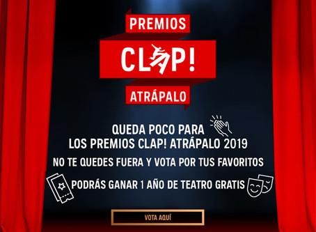 Vota los Premios Clap! 2019 al teatro chileno, tu elegirás a los ganadores