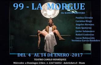 """Vuelve: """"99- LA MORGUE"""" de Ramón Griffero."""