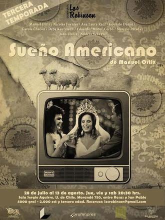 """Versión libre de La vida es sueño """"Sueño Americano"""""""