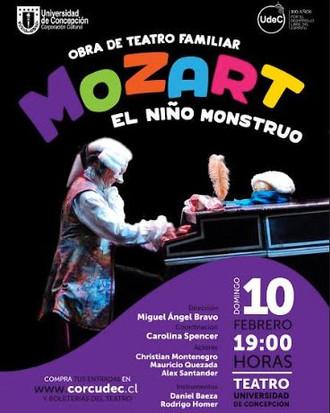 Mozart, el niño monstruo.