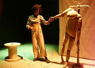 "Teatro Camino presenta ""El Cristo de Trapo"""