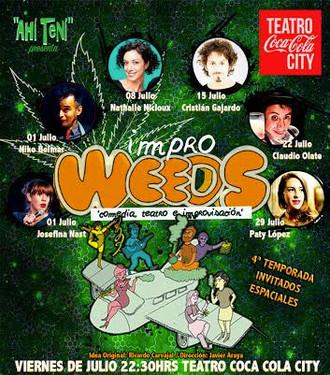 Impro Weeds - Teatro Coca Cola City