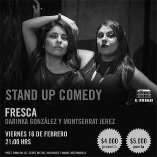 Stand up comedy: Fresca
