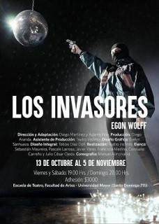"""Escuela de Teatro de la Universidad Mayor reestrenará """"Los Invasores"""""""