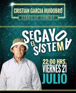 """Cristián García Huidobro presenta """"Se Cayó el Sistema"""""""
