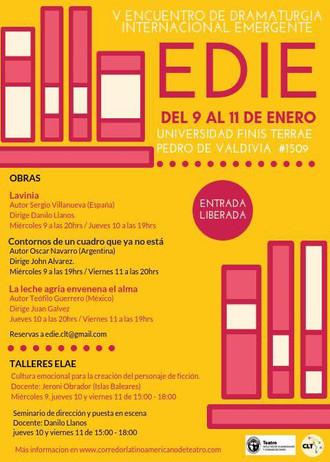 V Encuentro de Dramaturgia Internacional Emergente