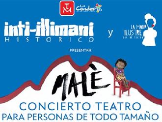 Malè, Concierto Teatro para personas de todo tamaño
