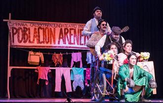 """La comedia teatro se hace presente en el Anfiteatro Bellas Artes con """"Población Arenera"""""""