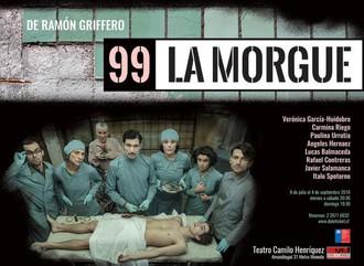"""""""99- LA MORGUE"""" de Ramón Griffero."""