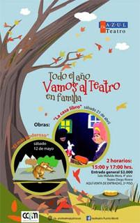 """Azul Teatro presenta """"El más poderoso"""""""