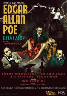 """""""Edgar Allan Poe, estás ahí?"""""""