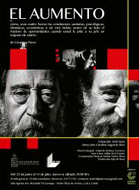 """Obra """"El Aumento"""" en sala Agustín Siré"""
