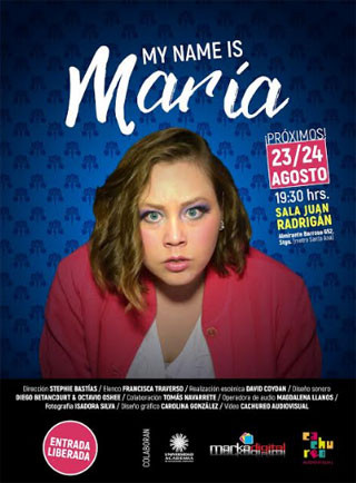 """My name is María"": Obra"