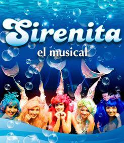 """El musical """"Sirenita"""" se presenta en San Ginés"""