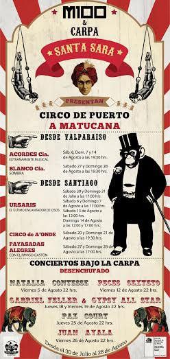 El Circo se toma Matucana 100