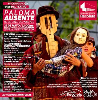El teatro se toma las actividades culturales en Recoleta