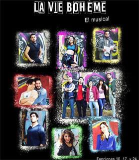 La Vie Boheme, el musical