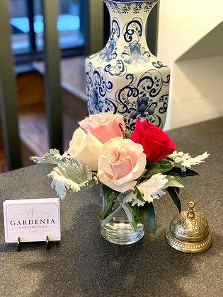Rose Arrangement in Vase