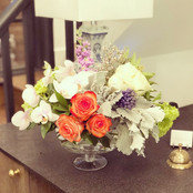 Colorful French Flower Arrangement