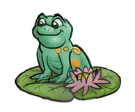 Frog on lilypad 012921.png