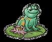 Frog on lilypad 012921 flip.png