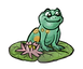 Frog on lilypad 012921 flip.png