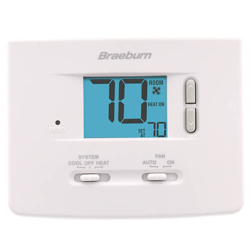 Braeburn Single-Stage Dual Powered Thermostat