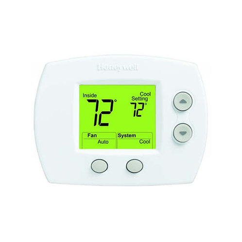 Honeywell TH5110D1006 - FocusPRO® 5000 Digital Non-Programmable Thermostat 1H/1C