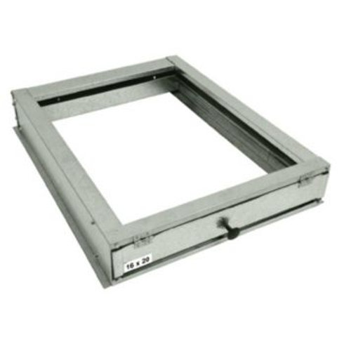 "McDaniel Metals 24.5"" Air Handler Filter Base"