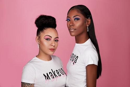 Makeup by Super Jaz Logo T-Shirt